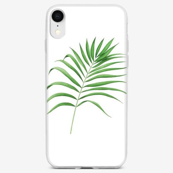 Чехол iPhone «Лист пальмы»