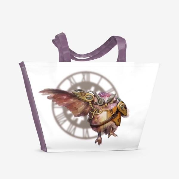 Пляжная сумка «Бег времени»