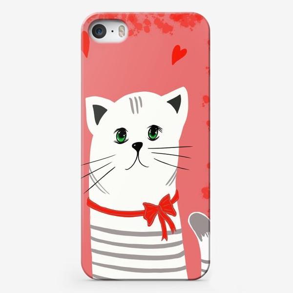 Чехол iPhone «Мой ласковый и нежный зверь. Котик. Кот. Котэ»