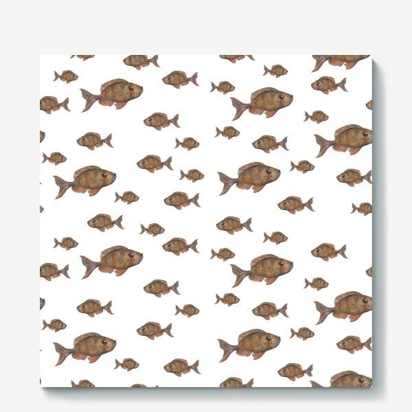 Холст «Рыбки»