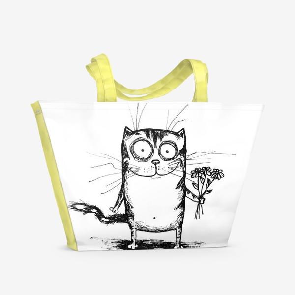 Пляжная сумка «Улыбайся»