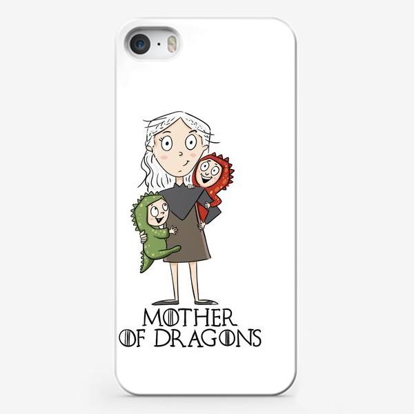 Чехол iPhone «Мать матерь 2 драконов»