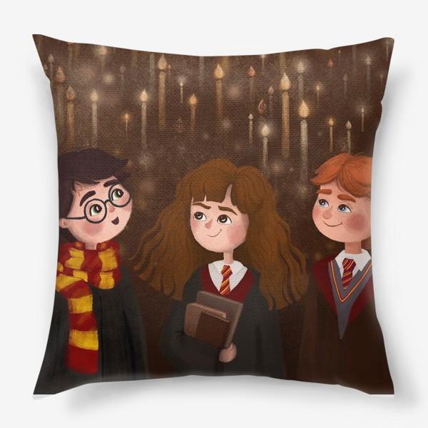 Подушка «Волшебники»