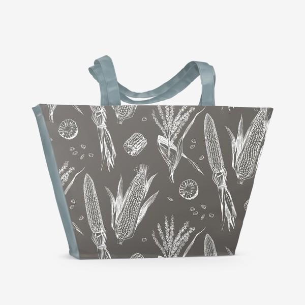 Пляжная сумка «Урожай кукурузы»