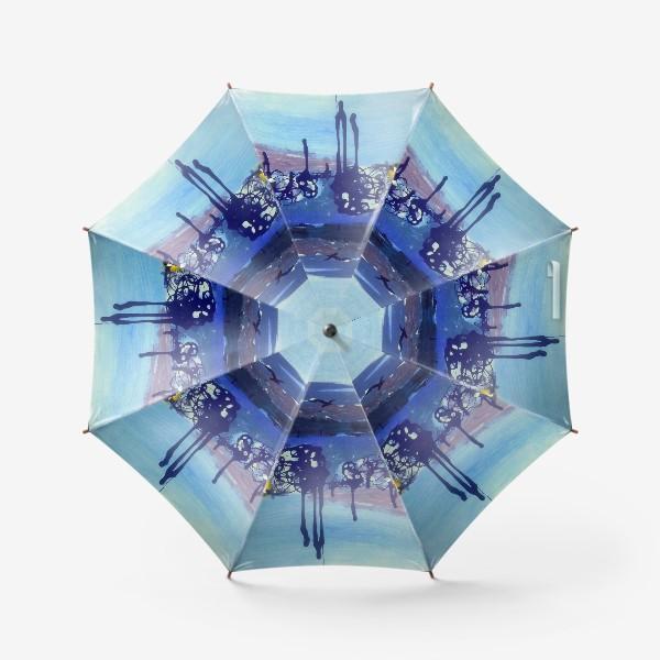 Зонт «ДЫХАНИЕ МОРЯ»