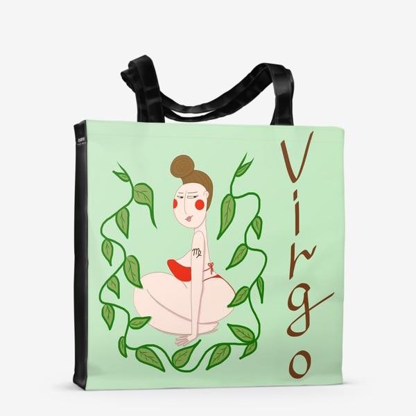 Сумка-шоппер «Дева. Подарок Деве. Знак зодиака Дева»