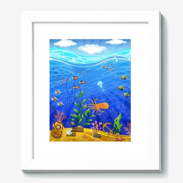 Картина «Подводный мир»