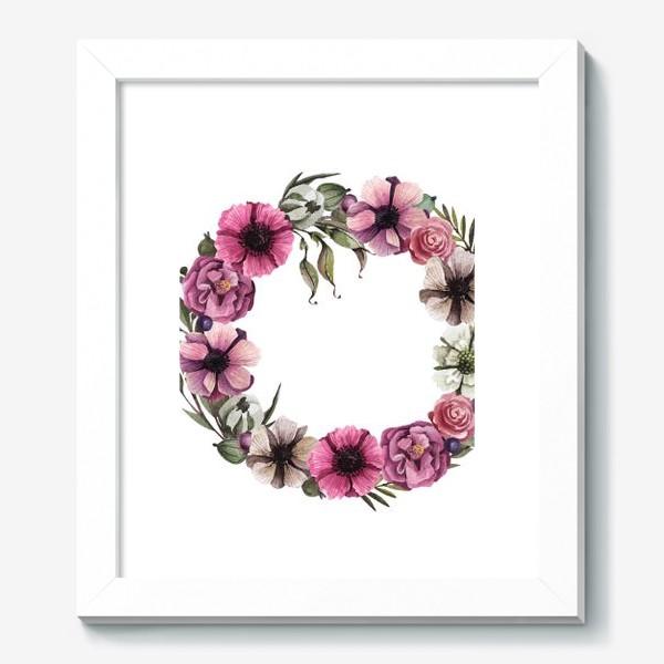 Картина «Цветочный венок»