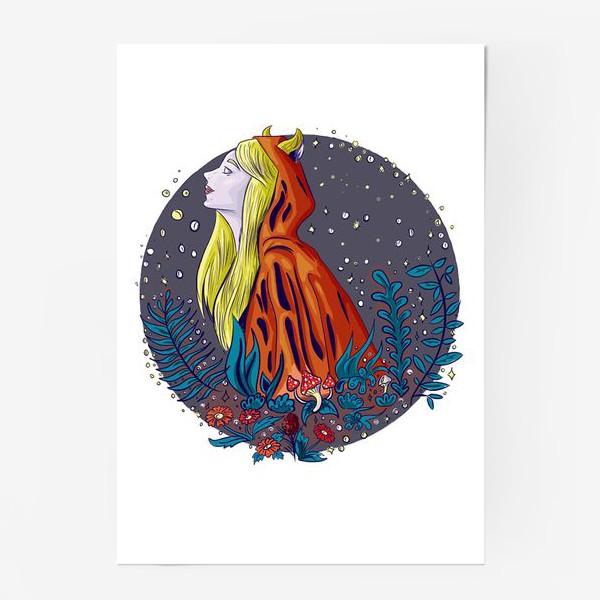 Постер «Лесной дух»