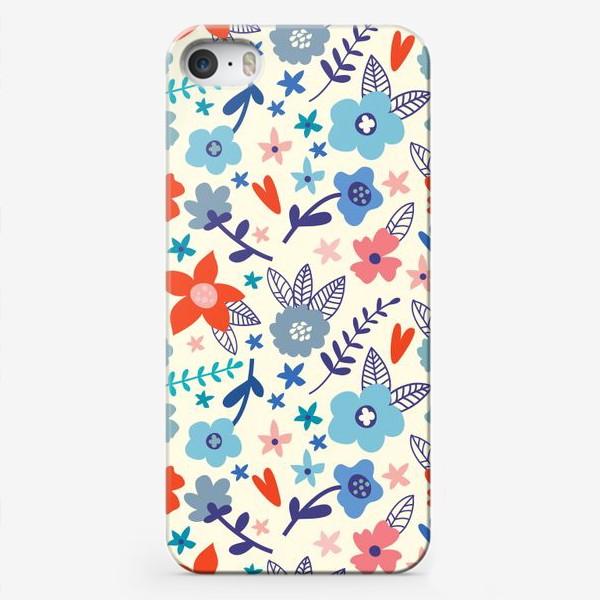 Чехол iPhone «Цветочные мотивы»