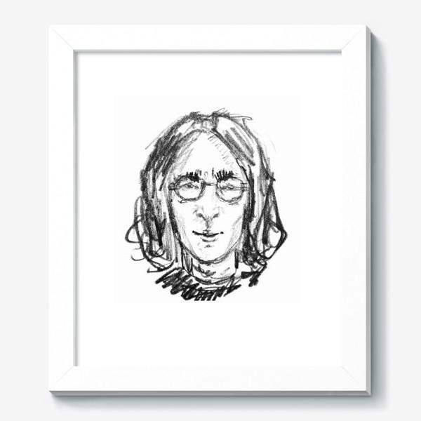 Картина «Джон Леннон скетч портрет »
