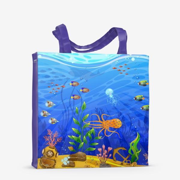 Сумка-шоппер «Подводный мир»