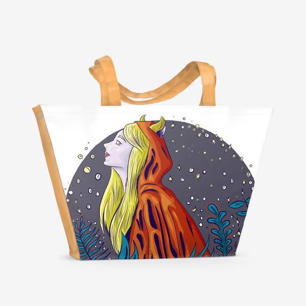 Пляжная сумка «Лесной дух»
