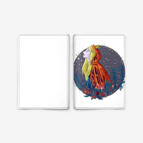 Обложка для паспорта «Лесной дух»