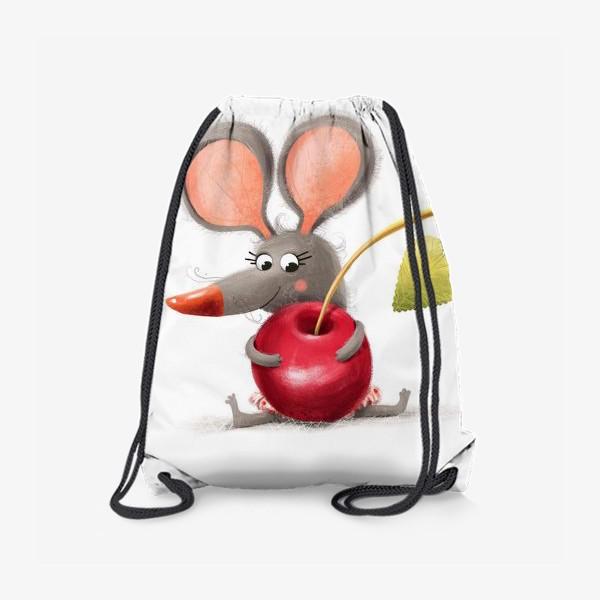 Рюкзак «Мышка - вишенка»