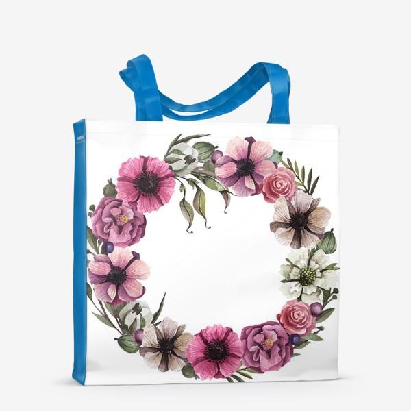 Сумка-шоппер «Цветочный венок»