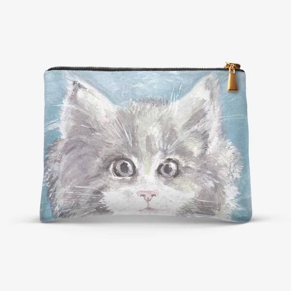 Косметичка «Взгляд кошки...»