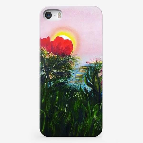 Чехол iPhone «любование солнцем»