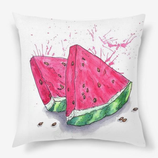 Подушка «Арбуз»