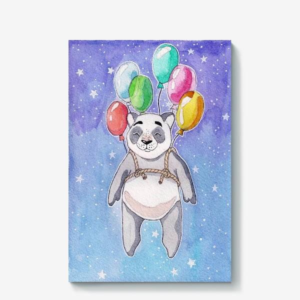 Холст «Панда-путешественница»
