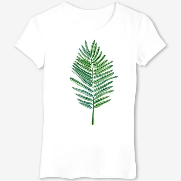 Футболка «Пальмовый лист»