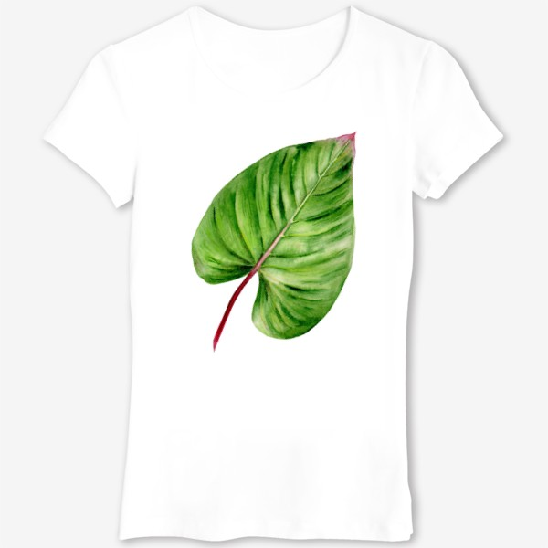 Футболка «Зеленый лист»