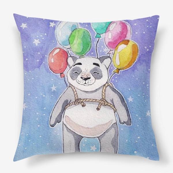 Подушка «Панда-путешественница»
