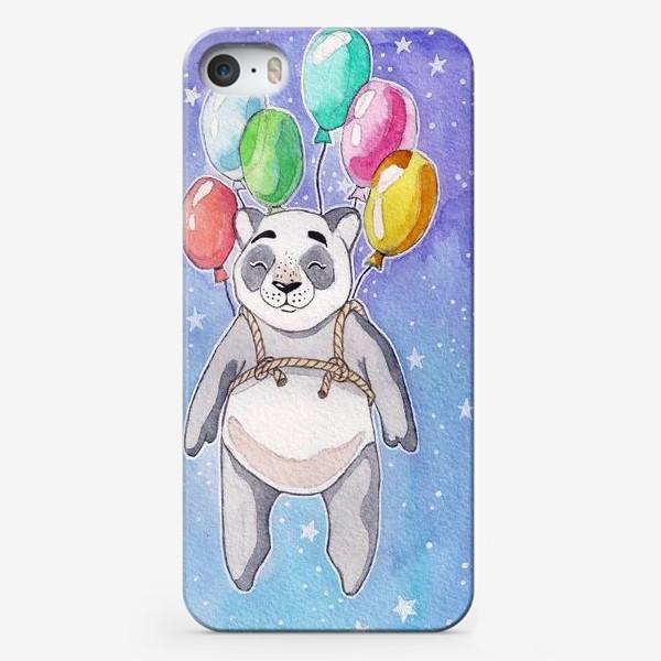 Чехол iPhone «Панда-путешественница»