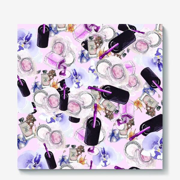 Холст «Fashion Nails Орхидея Лак Пудра»