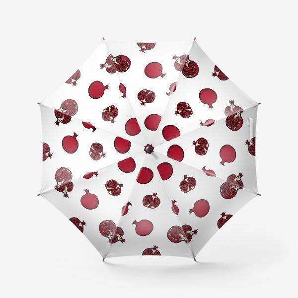 Зонт «Гранатовый паттерн»