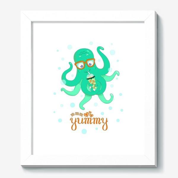 Картина «Осьминог Yummy»