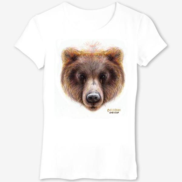 Футболка «Морда медведя»