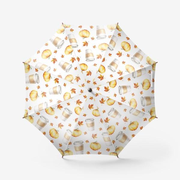 Зонт «В объятиях осени»