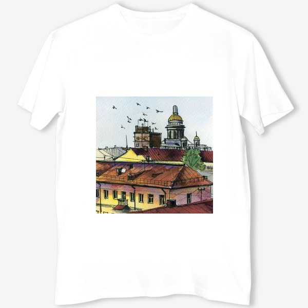 Футболка «Крыши Петербурга»