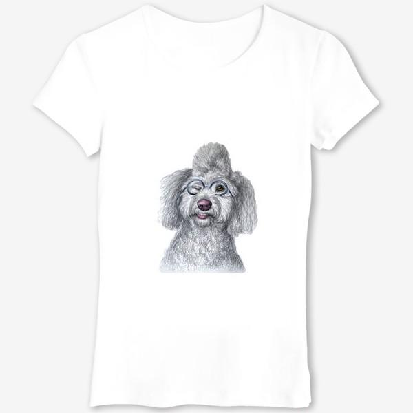 Футболка «Собака в очках»