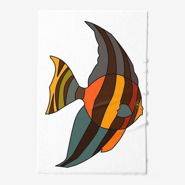 Полотенце «Рыба из Барбадоса»