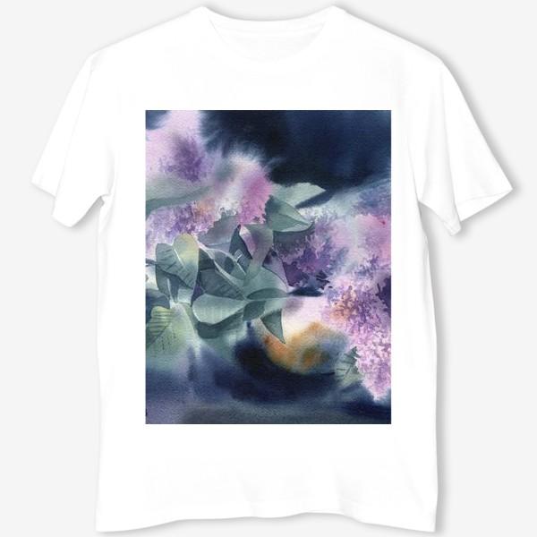 Футболка «Lilac flowers»