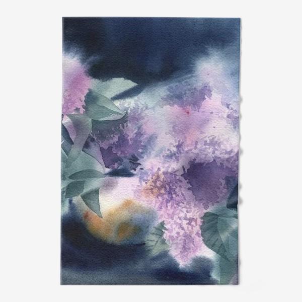 Полотенце «Lilac flowers»