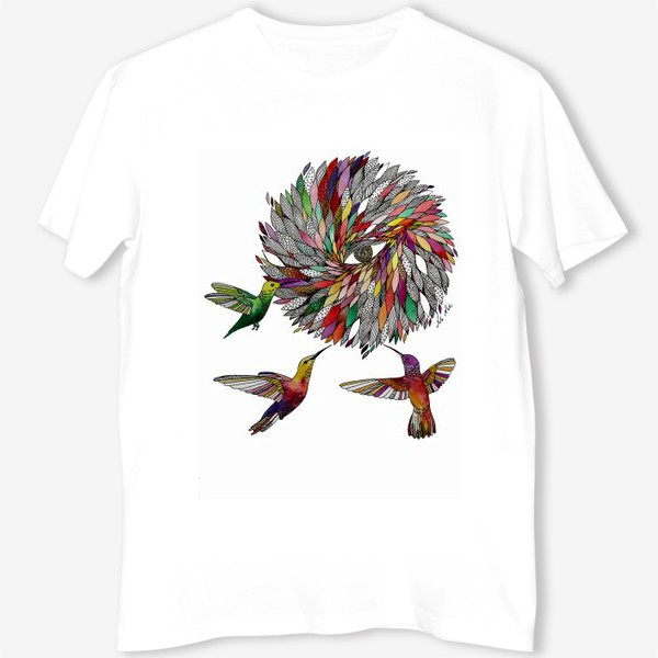 Футболка «Птицы Колибри»