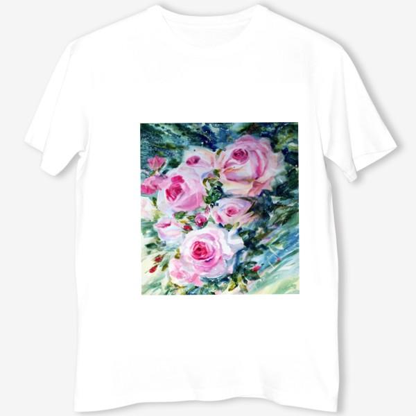 Футболка «Розовые розы»