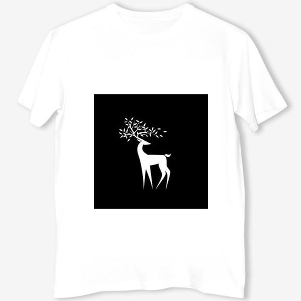 Футболка «Белый олень»
