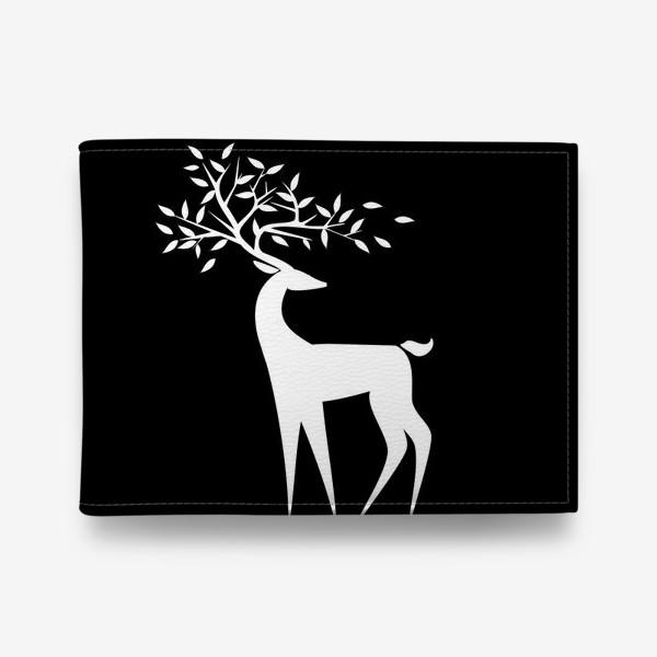 Кошелек «Белый олень»