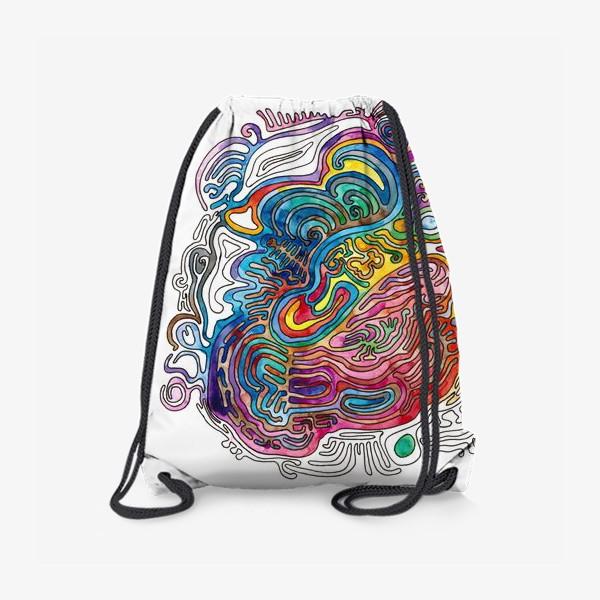 Рюкзак «Watercolor Doodle»