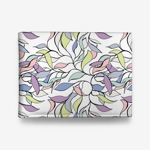 Кошелек «Pastel leaves»