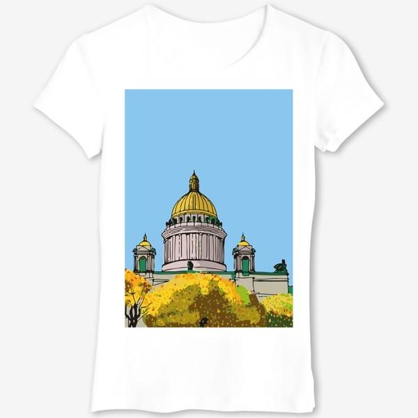 Футболка «Осень в Петербурге»