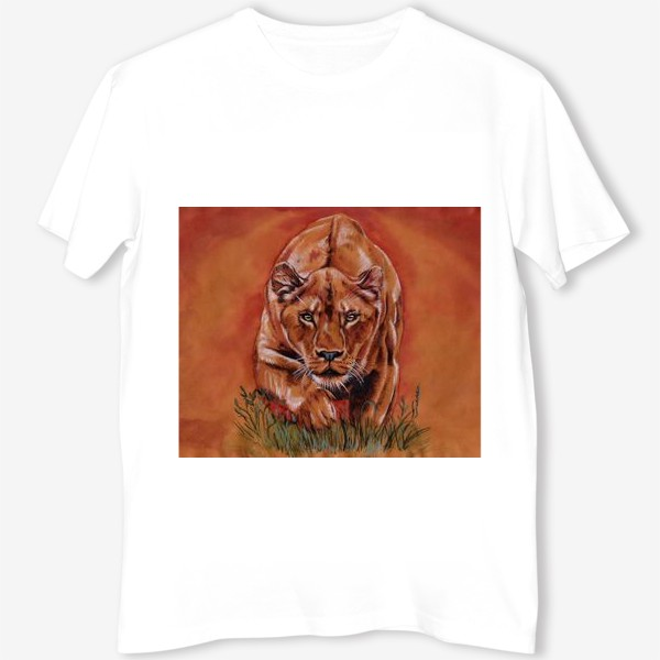 Футболка «львиная охота »