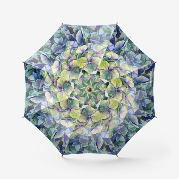 Зонт «Лесная гортензия»