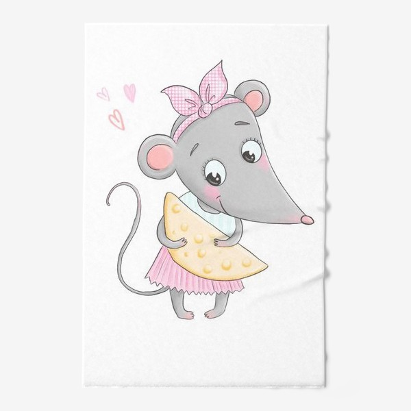 Полотенце «Милая мышка»