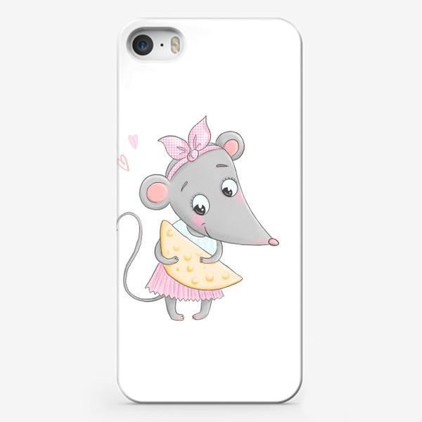 Чехол iPhone «Милая мышка»