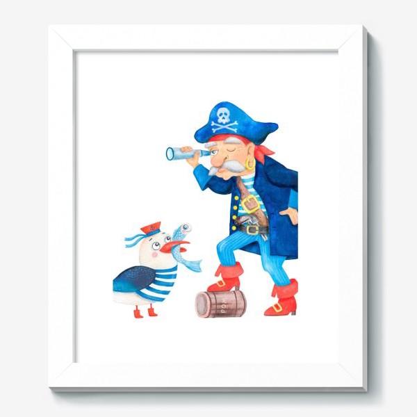 Картина «Пират и чайка»